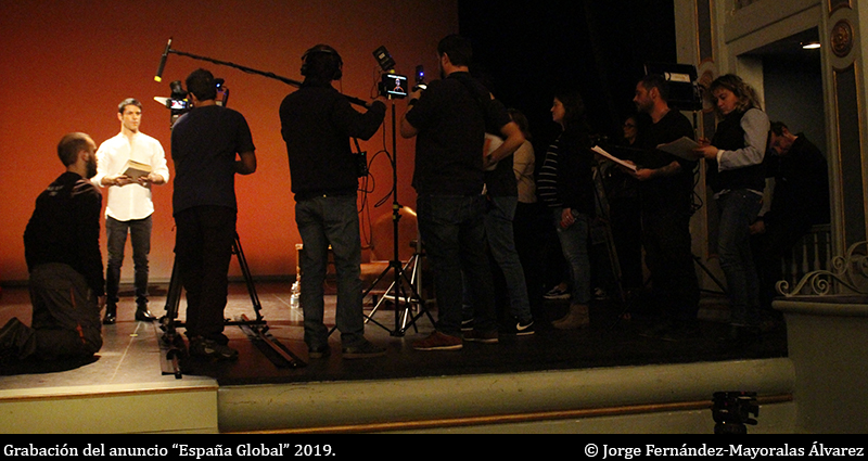 Coordination Service for Filming the 'España Global 2019' ad. ©Jorge Fernández-Mayoralas Álvarez